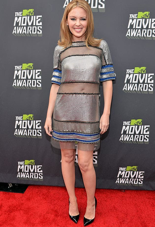 Kylie Minogue 2013 MTV Movie Awards