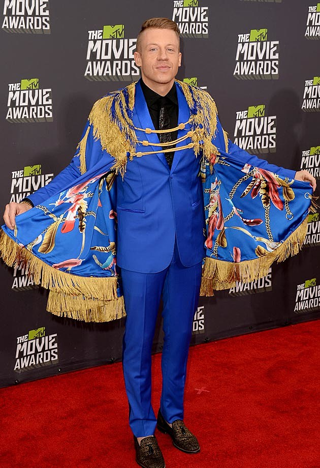 Macklemore Wings 2013 MTV Movie Awards