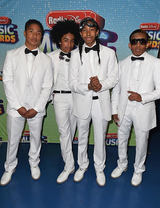 Mindless Behavior Radio Disney Awards 2013