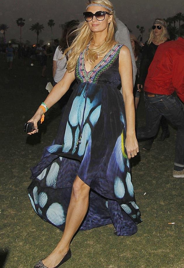 Paris Hilton 2013 Coachella