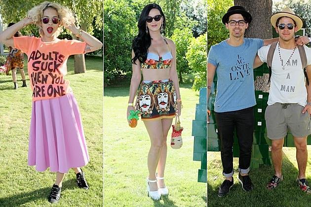 Rita Ora Katy Perry Jonas Brothers