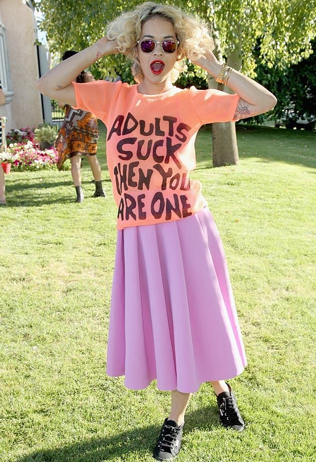 Rita Ora Coachella 2013