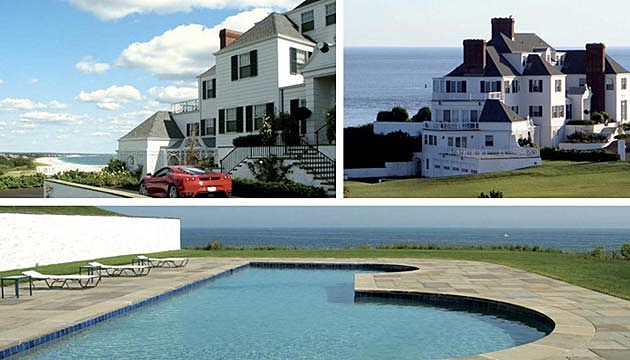 Taylor Swift Rhode Island Mansion Exterior