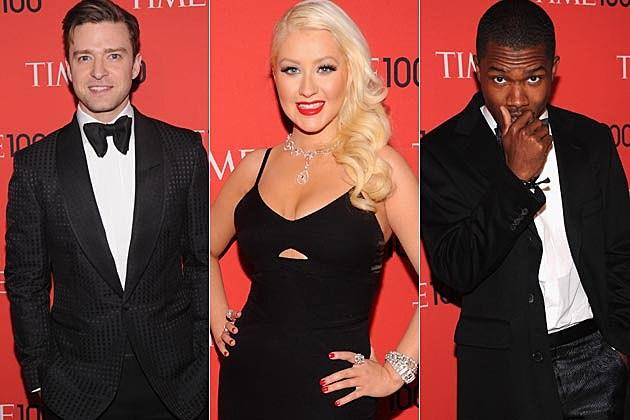 Time 100 Gala Christina Aguilera Justin Timberlake Frank Ocean