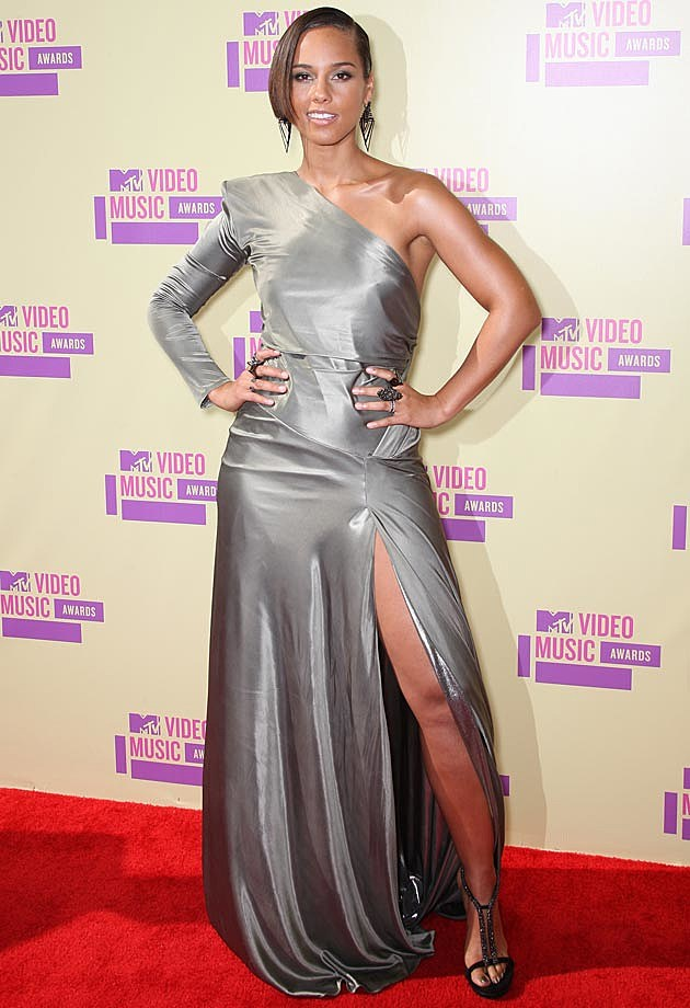 Alicia Keys Alexandre Vauthier VMAs