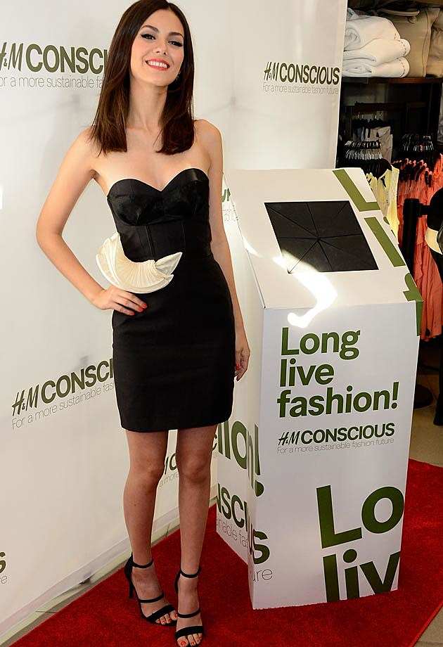 Victoria Justice H&M Conscious Collection