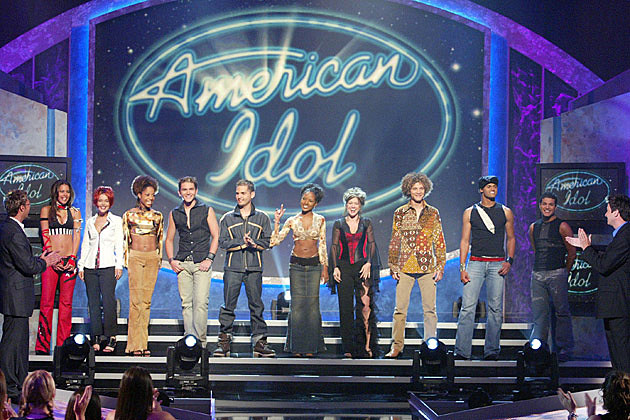 American Idol Season 1 Top 10