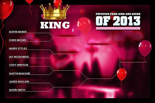 PopCrush Prom King Bracket