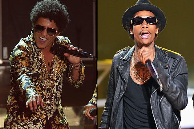 Bruno Mars Wiz Khalifa