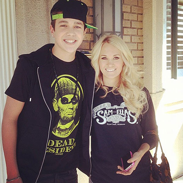 Austin Mahone Carrie Underwood