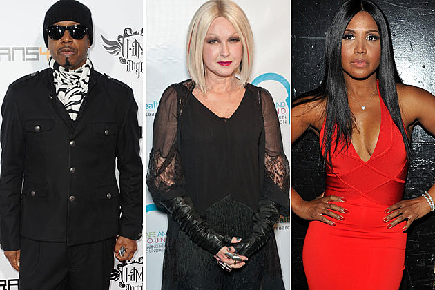 MC Hammer Cynd Lauper Toni Braxton