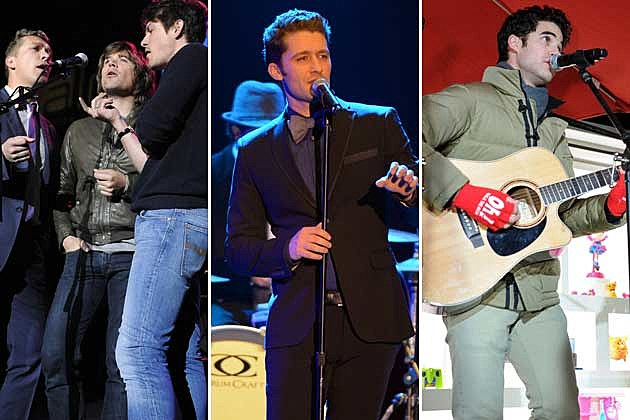 Hanson, Matthew Morrison, Darren Criss