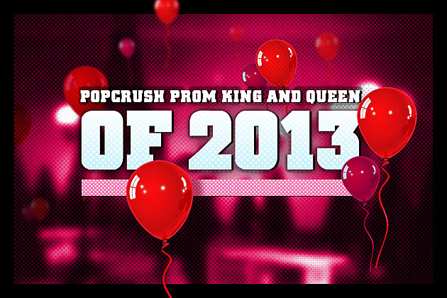 PopCrush Prom King Queen 2013