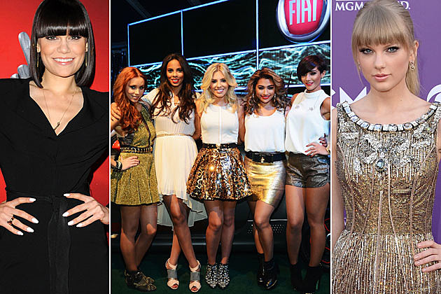 Jessie J The Saturdays Taylor Swift