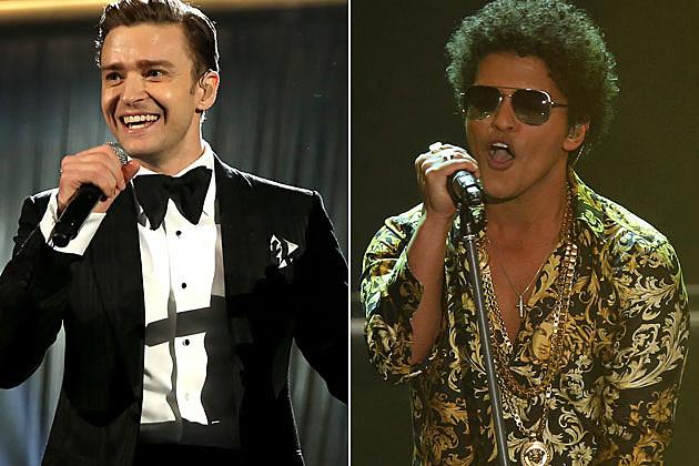 Justin Timberlake Bruno Mars