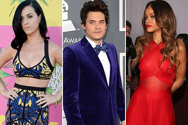 Katy Perry John Mayer Rihanna