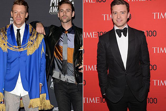 Macklemore Ryan Lewis Justin Timberlake