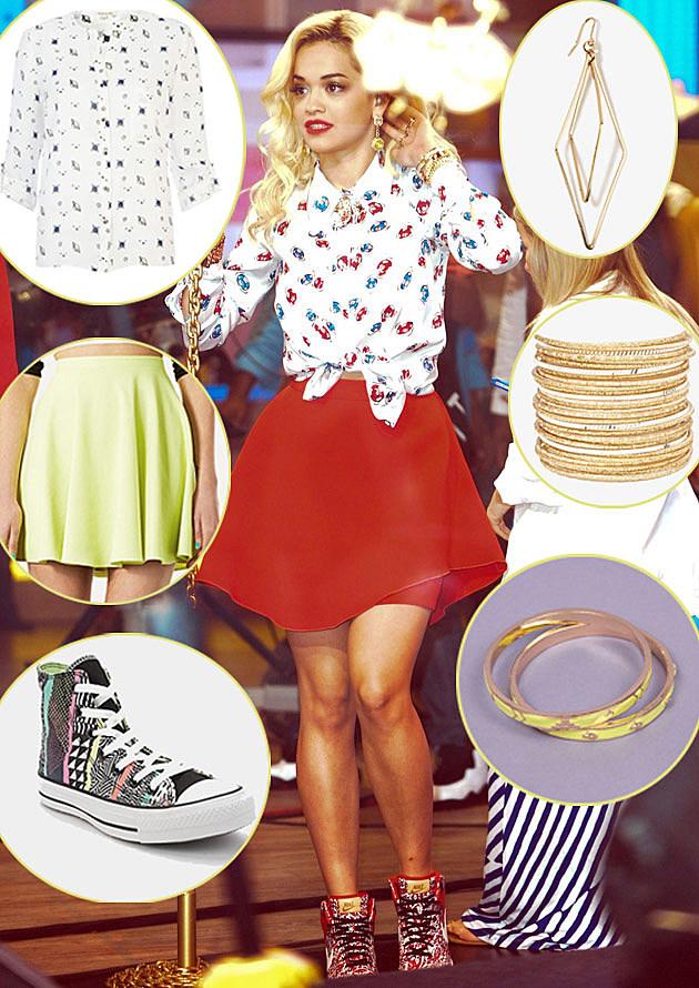 Rita Ora Get the Look