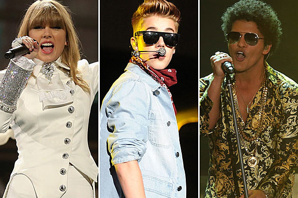Taylor Swift, Justin Bieber, Bruno Mars + More Set to Perform at 2013 Billboard Music Awards