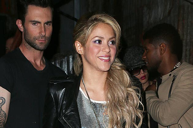 Adam Levine Shakira