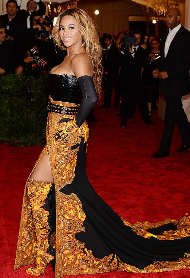Beyonce 2013 Met Gala Givenchy