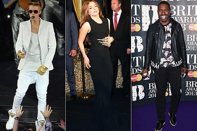 Justin Bieber Lady Gaga Frank Ocean Webbys
