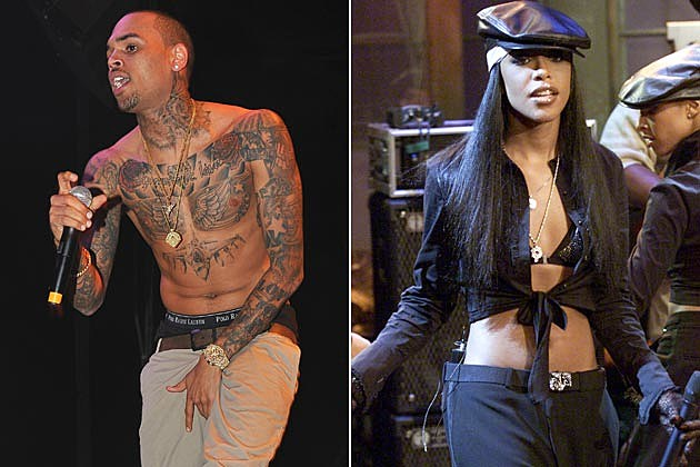 Chris Brown Aaliyah