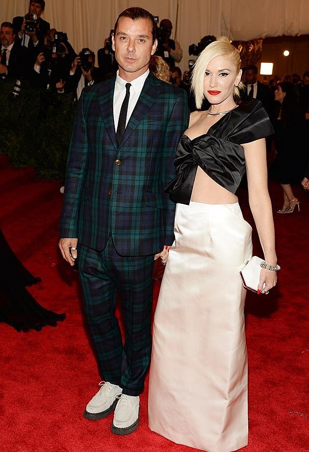 Gwen Stefani Gavin Rossdale 2013 Met Gala Maison Martin Margiela