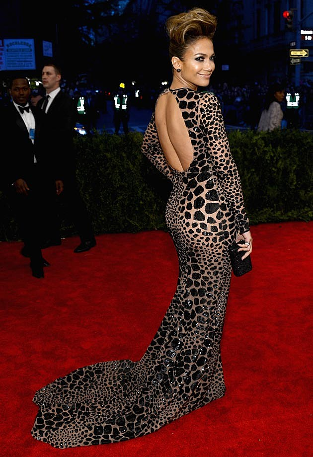 Jennifer Lopez 2013 Met Gala Michael Kors