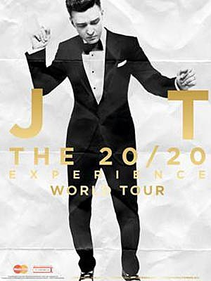 Justin Timberlake 20/20 Tour Post