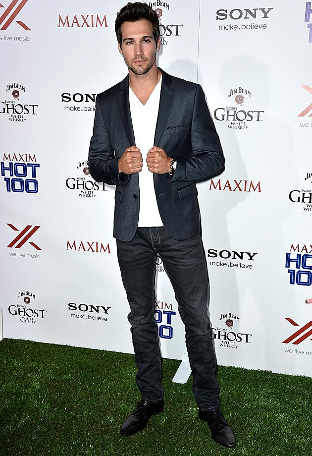 James Maslow BTR Maxim Hot 100 Party