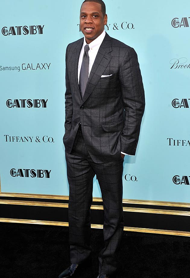 Jay-Z Tom Ford Suit NYC Gatsby Premiere