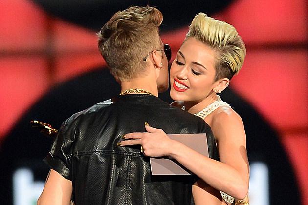 Justin Bieber Miley Cyrus