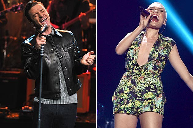 Justin Timberlake Jessie J