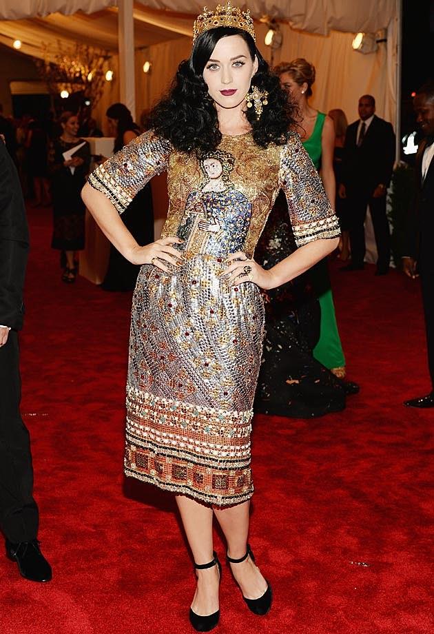 Katy Perry 2013 Met Gala Dolce & Gabbana