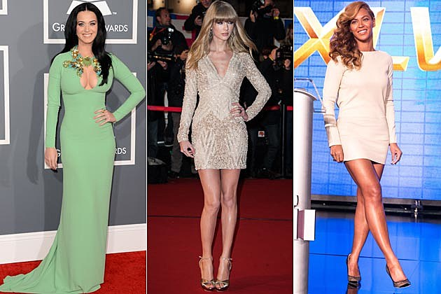 Katy Perry Taylor Swift Beyonce