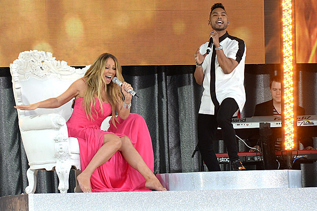 Mariah Carey Miguel Good Morning America