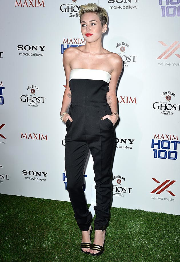Miley Cyrus Maxim Hot 100