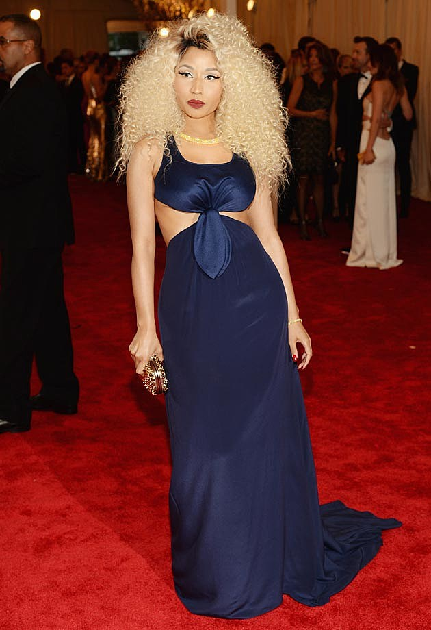 Nicki Minaj 2013 Met Ball Tommy Hilfiger