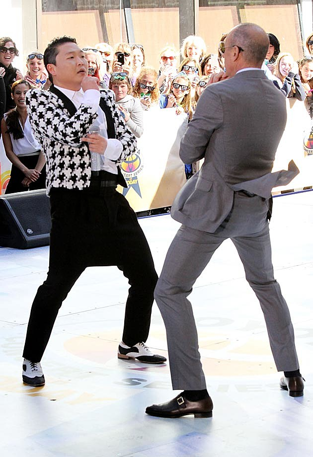 Psy Matt Lauer Today Show