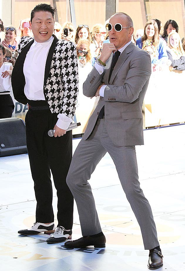 Psy Matt Lauer Today