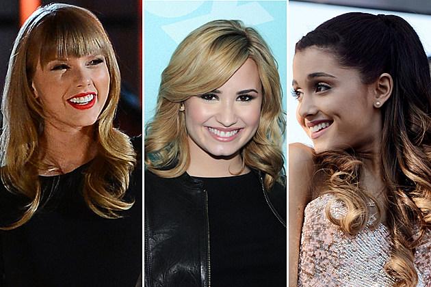 Taylor-Swift-Demi-Lovato-Ariana-Grande