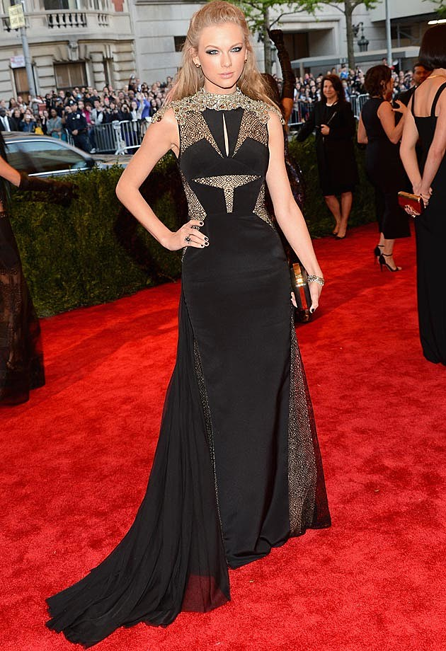 Taylor Swift J. Mendel Met Gala 2013