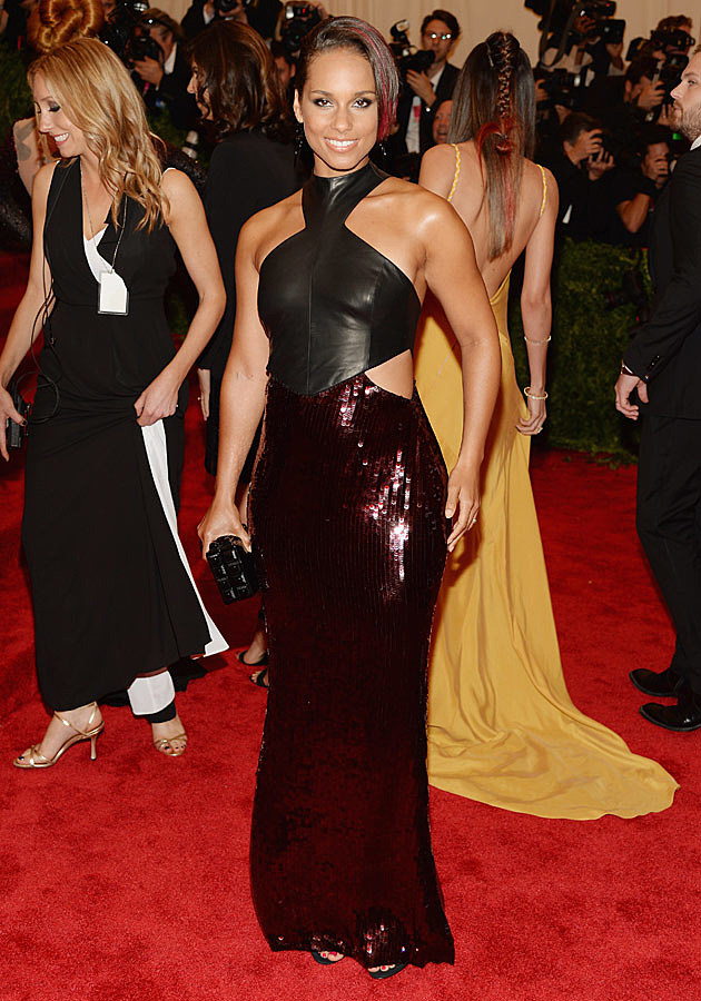 Alicia Keys 2013 Met Gala