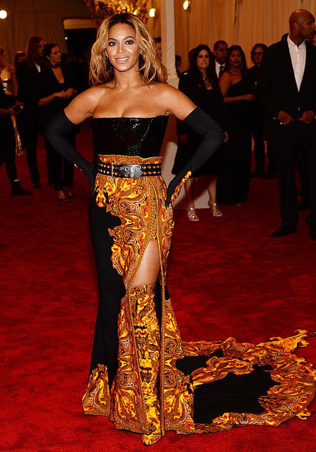 Beyonce 2013 Met Gala