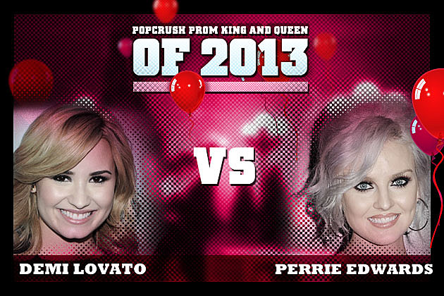 Demi Lovato Perrie Edwards Prom Queen 2013