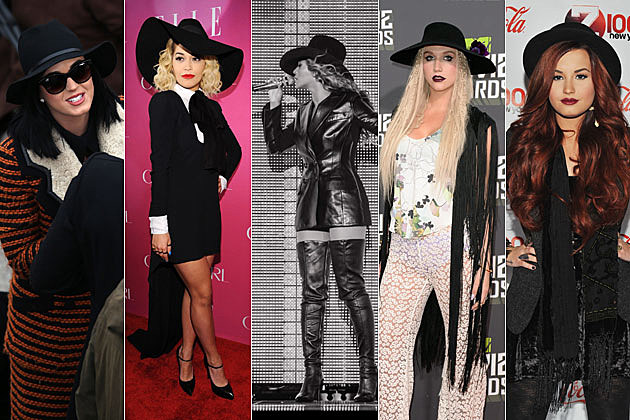 Katy Perry Rita Ora Beyonce Kesha Demi Lovato