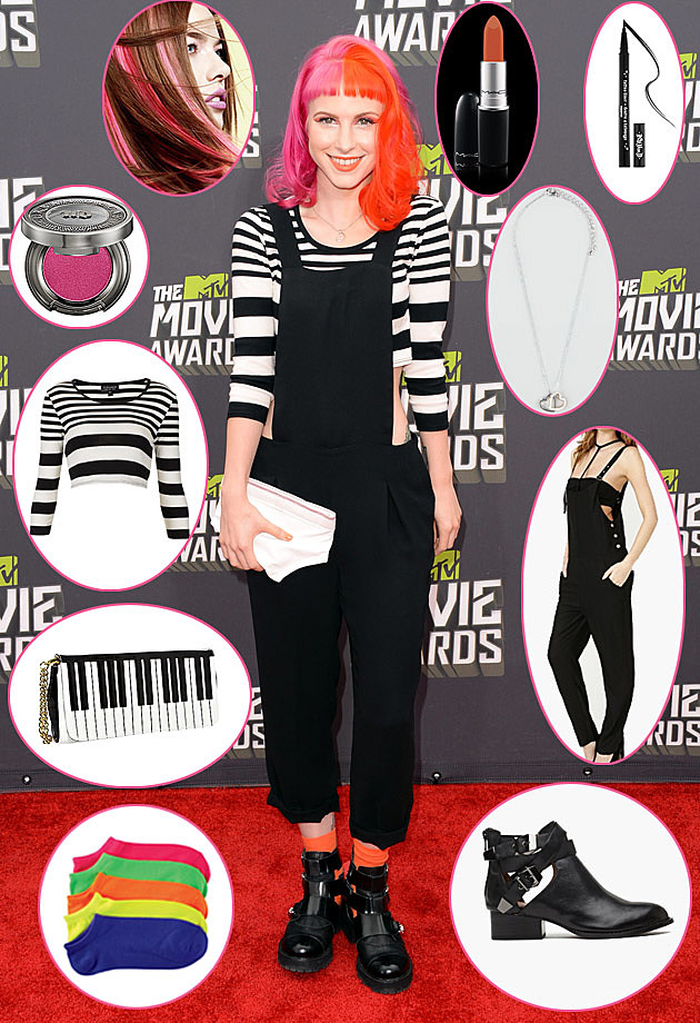 Hayley Williams Get the Look