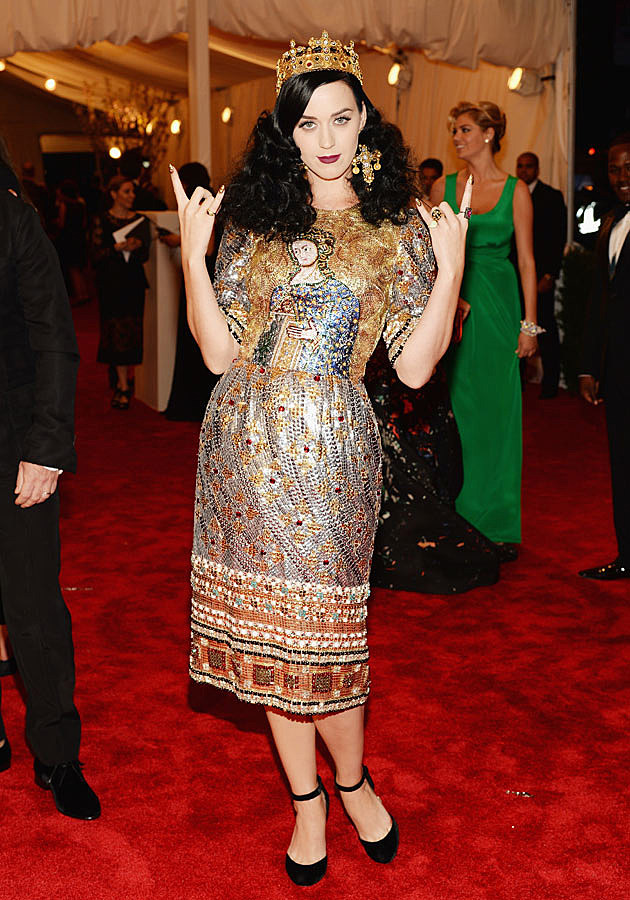 Katy Perry 2013 Met Gala