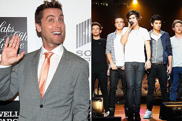 Lance Bass One Direction